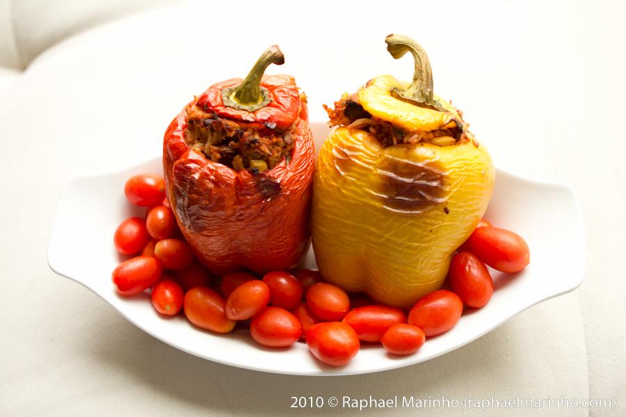 Stuffed Peppers (photo: R Marinho)
